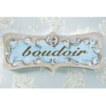 Boudoir Decorative Plaque - Furniture, Home Decor & Home Furnishings, Home Accessories & Gifts | Expressions