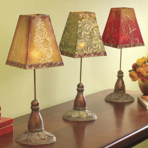Home Decorating on Capiz Tealight Lamp   Furniture  Home Decor   Home Furnishings  Home