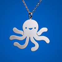 Happy Octopus Necklace