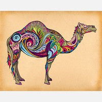 Green Girl Canvas: Camel 14x11, at 16% off!