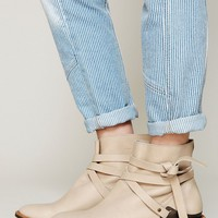 Free People Blazer Wrap Ankle Boot