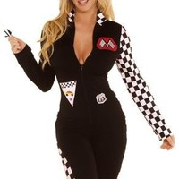 2 PC RACE CAR DRIVER COSTUME