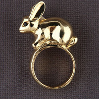 Zad Hop to It Ring - &amp;#36;14.00 : Fashion Rings at LuLus.com