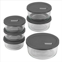 No Leak Lids 12-Pc Storage Set