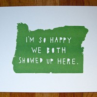 OREGONI'm So Happy by TwoSarahs on Etsy