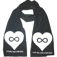 LOVE WILL SAVE YOUR SOUL Scarf