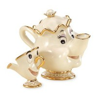 Amazon.com: Lenox Disney Showcase Mrs. Potts &amp; Chip: Home &amp; Kitchen