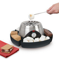 The Indoor Flameless Marshmallow Roaster - Hammacher Schlemmer