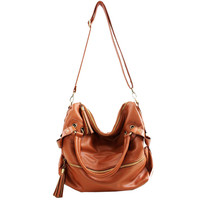 Korean Hobo PU Tassel L...