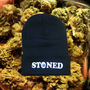 SoCiaL ReJecTx  BLACK STONED BEANIE