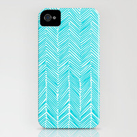 Freeform Arrows in turquoise iPhone Case by Domesticate | Society6
