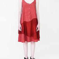 Correll Correll Buttoned Chiffon Skirt Dress « Pour Porter