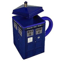 Doctor Who Figural TARDIS Mug