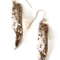 Olive Leaf Earring