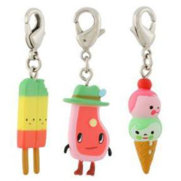 """let's hang"" zipper pulls"