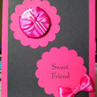 Sweet Friend Valentine by SeaChellesCards on Etsy