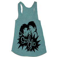 Womens Soul Glo Tri-Blend Racerback Tank - American Apparel tanktop shirt - XS, S, M, and L (9 Color Options)