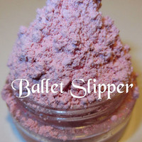 Ballet Slipper Pink Pastel Matte Satin Mineral Eyeshadow Mica Pigment 5 Grams Lumikki Cosmetics