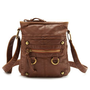 Pebbled Leatherette Crossbody Bag: Charlotte Russe