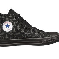 Converse Chuck Taylor All Star Hi Top Anchors Black/Charcoal Sailor Jerry 1y932