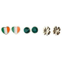 Irish Earring Trio