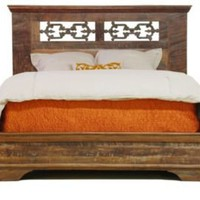 One Kings Lane - Casual Home - Cambria Reclaimed Wood Bed