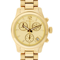 Michael Kors Mini Gold Chronograph Watch