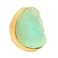 Pree Brulee - Sea Geode Ring