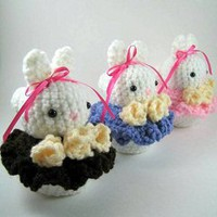 Buy Bunny Cakes pattern - AmigurumiPatterns.net