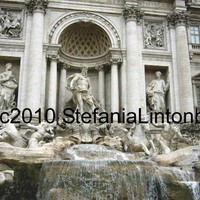 Trevi Fountain  Rome Italy  Digital image by BeadedDelightsByStef