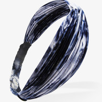 Knotted Tie-Dye Headwrap