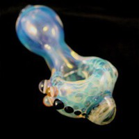 Marble Head Glass spoon pipe