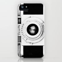Paxette vintage camera iPhone Case by Bomobob | Society6