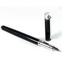 Amazon.com: Shade Wave Black Fountain Pen Nib Fine with Push in Style Ink Converter: Office Products