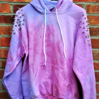 Cryptic Cult  &#x27;MIDNIGHT&#x27; tie dye pullover hoodie
