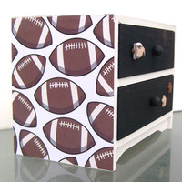 Football Trinket Box by StrictlyCute on Etsy
