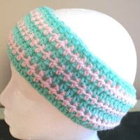 Womens Fashion Hairband, Earwarmer Headband, Pink Headband, Ski Band, Mint Headband, Yoga Hairband, Workout Headband