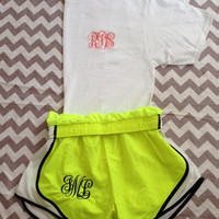 Monogrammed Workout Package
