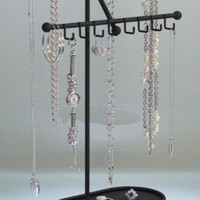 Long Necklace Holder Organizer Jewelry Tree Display Stand Storage Rack (CLICK TO SEE COLORS) Angely