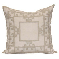 Bliss Studio Majorca Yuan Ivory Pillow - Final Sale