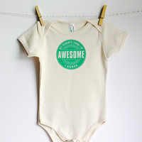I'm Awesome - American Apparel Organic Onesuit
