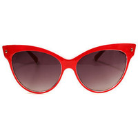 GYPSY WARRIOR - Cat Eye Sunglasses - Red