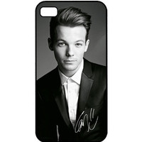 Louis Tomlinson ONE DIRECTION Autograph Apple iPhone 4 4s Case Little Thing