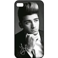 Zayn Malik ONE DIRECTION Autograph Apple iPhone 4 4s Case Cover Little Thing