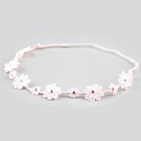 FULL TILT Crochet Daisy Headband 211827380 | Hair Accessories  | Tillys.com