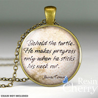 James Conant quote resin pendant, quote glass pendant charms,pendant jewelrys- Q0076CP