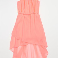 Kiddo Spaghetti Strap High/Low Dress (Big Girls) | Nordstrom