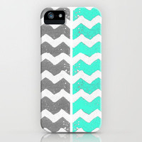 Chevron Surf iPhone Case by The Velvet Owl Design Studio | Society6