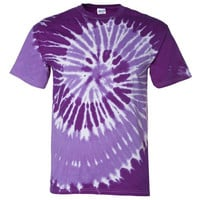 Single Color Traditional Tie Dyed T Shirts MULTIPLE COLORS