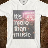it's more than music. - coastalshine shirts